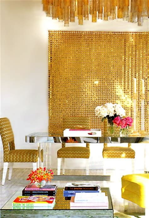 gold dining room color of the month october 2012