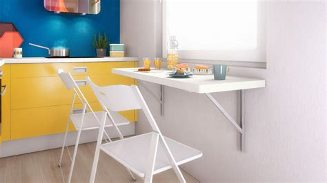 Small Kitchen Dining Ideas by Table Cuisine Rabattable