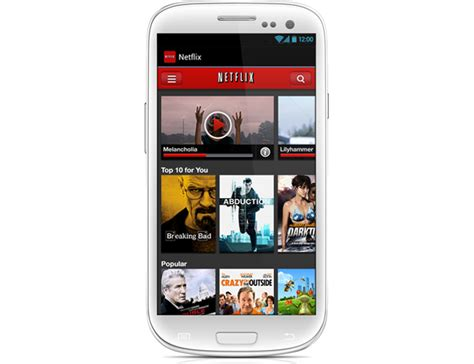 netflix app for android netflix for android updated with new ui
