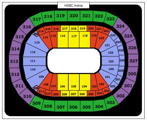 first niagara center formerly hsbc arena seating chart nashville predators seating chart car interior design
