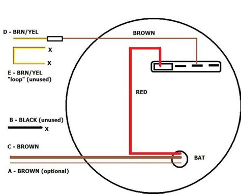 alternator wiring diagram tachometer gallery wiring