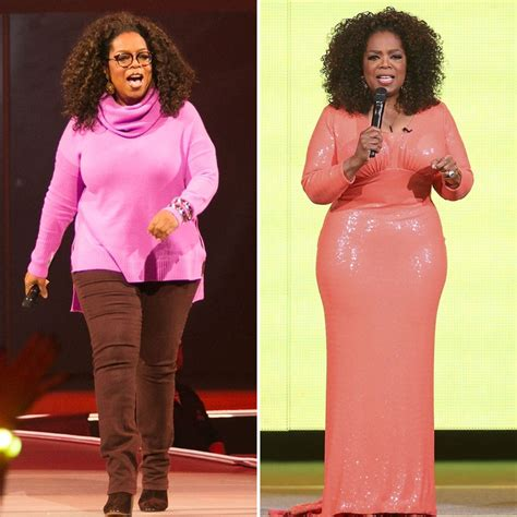 p weight loss oprah winfrey before and after photos pk baseline how