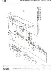 Volvo Outdrive Parts Volvo Penta Outdrives Schematics Get Free Image About