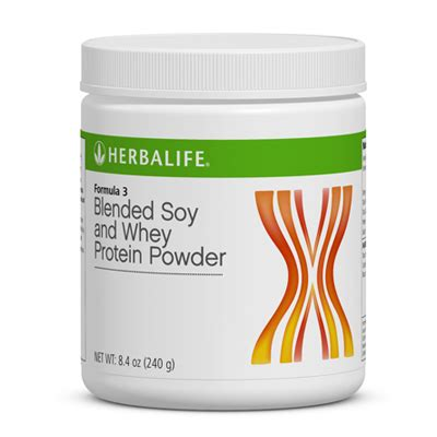 Herbalife Whey Protein My Herbalife Protein Blended Soy And Whey