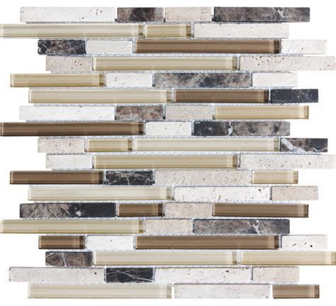 backsplash tile lowes brown beige tones wall tile contemporary tile by lowe s