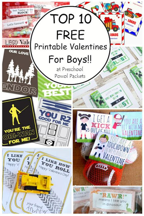 boys valentines day card templates top 10 free printable valentines cards for boys