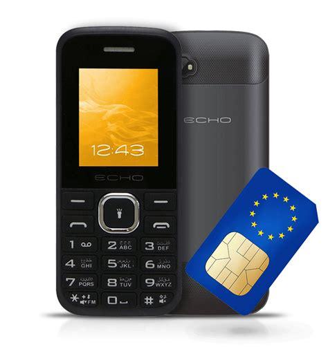europe mobile phone one prepaid sim card covers all europe