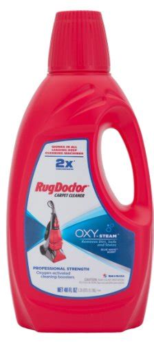 rug doctor oxy steam carpet cleaning solution removes