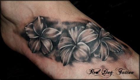shaded wrist tattoos unique designs for shaded flowers