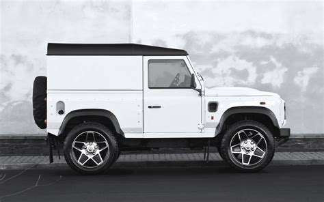 land rover defender white 2014 a kahn design land rover defender white chelsea wide