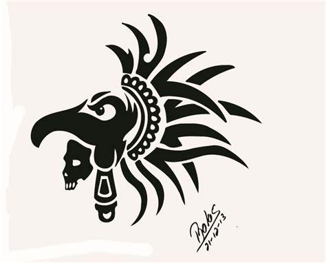 imagenes tribales aztecas silueta guerrero aguila azteca rolis mi web