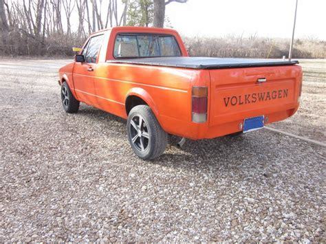volkswagen rabbit truck 1982 1982 volkswagen rabbit pickup truck for sale