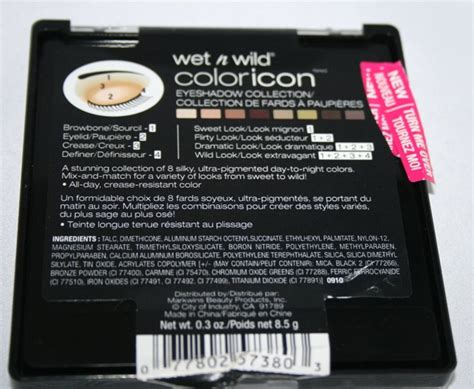 comfort zone raid wet n wild color icon eyeshadow collection palette