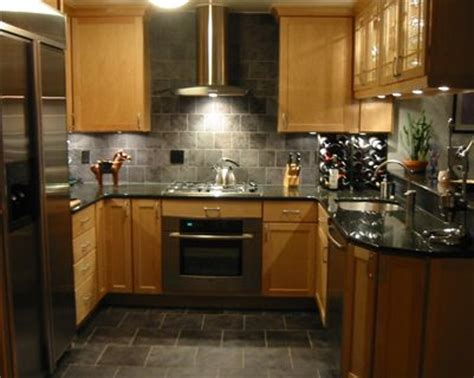 galley kitchen backsplash ideas best 25 slate appliances ideas on black