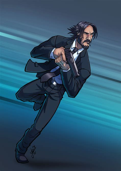 john wick tattoo wallpaper john wick by daztibbles on deviantart