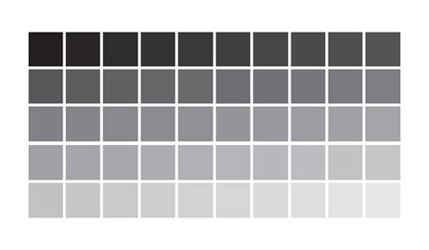 grey color chart pictures to pin on pinsdaddy