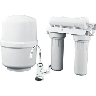 home depot ge osmosis filtration system questions