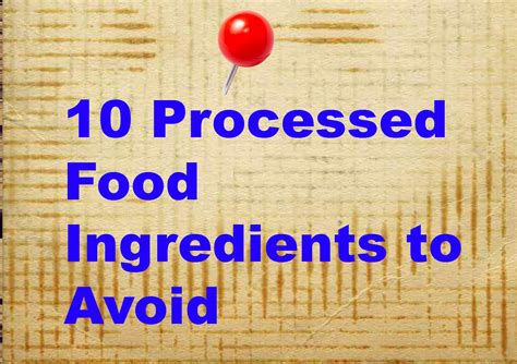 10 Ingredients To Avoid In Your Food by Juggling Real Food And Real 10 Ingredients To Avoid