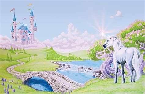 Disney Princess Castle Wall Stickers princess castle wallpaper wallpapersafari