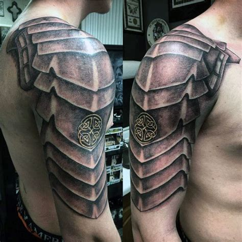 tattoo 3d armor 100 celtic knot tattoos for men interwoven design ideas