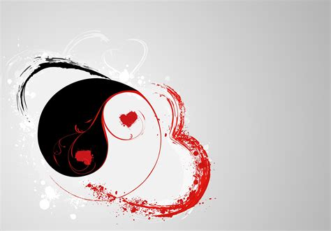 yin and yang tattoo designs black and dove yin yang design