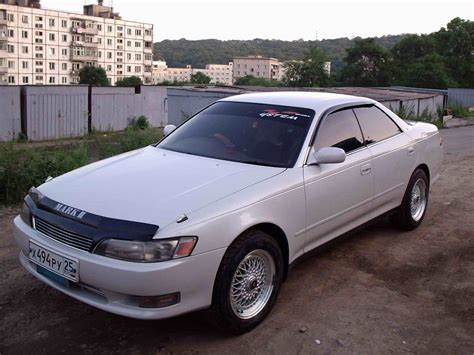 Toyota Ii 1993 Toyota Ii Pictures 2000cc Gasoline Fr Or Rr