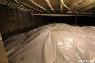 moisture barrier for basement floor covering basement crawl space floor with plastic vapor barrier