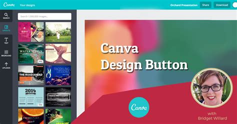 canva your design streamline your workflow canva design button plugin