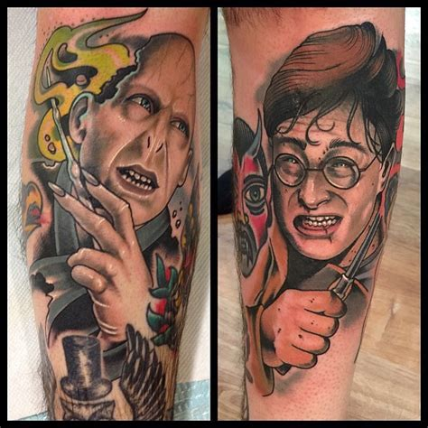 harry potter voldemort tattoo 30 fiction harry potter tattoos
