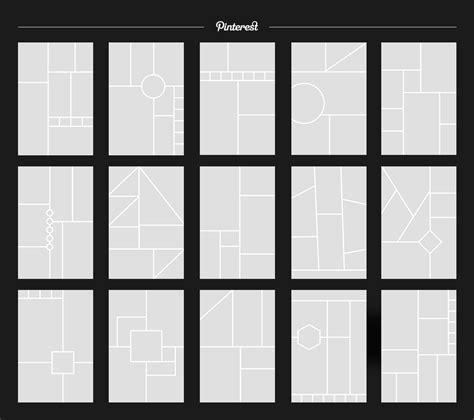 15 Pinterest Mood Board Templates By Uidea Thehungryjpeg Com Board Template