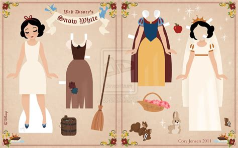 Paper Doll - delightfully random princess paper dolls