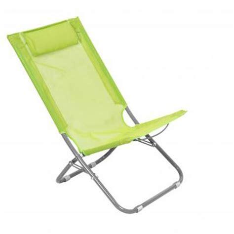 chaise pliante de plage chaise de plage pliante caparica helsinki vert achat