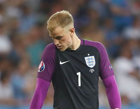iceland goalkeeper reacts to joe hart howler against iceland sport