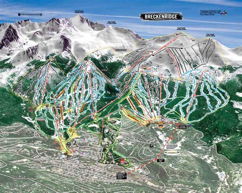 breckenridge map breckenridge skiing holidays ski breckenridge usa iglu ski