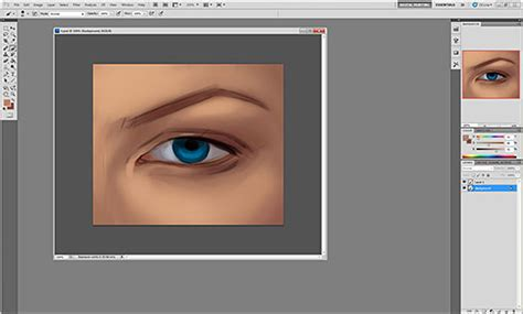 photoshop cs5 airbrush tutorial how to paint realistic eyes in photoshop cs5