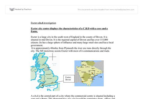 layout of a geography report edexcel coursework help
