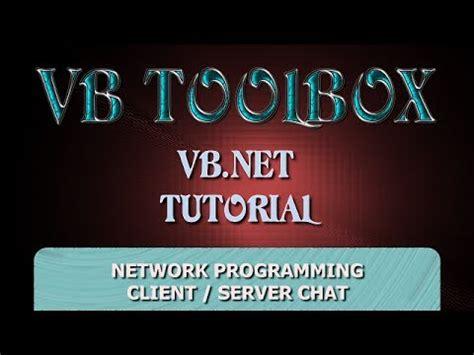 tutorial excel vb net vb net tutorial client server network programming