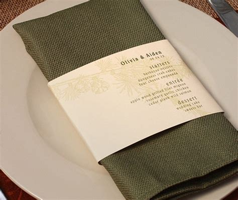 Wedding Paper Divas Belly Bands by 38 Best Menu Design Ideas Images On Menu