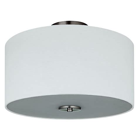 Buy John Lewis Jamieson Semi Flush Ceiling Light Satin Lewis Flush Ceiling Lights