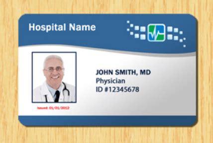 5 Id Badge Templates Excel Xlts Doctor Id Card Template