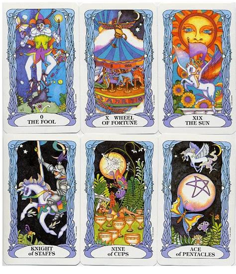 Tarot Of A Moon Garden by Tarot Of A Moon Garden 78 Cards Deck