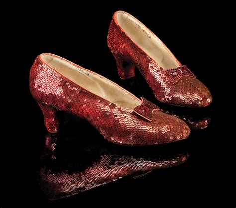wizard of oz slippers quot oz quot ruby slippers find their way home
