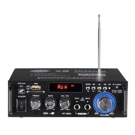 amplifiers audio bluetooth amplifier subwoofer