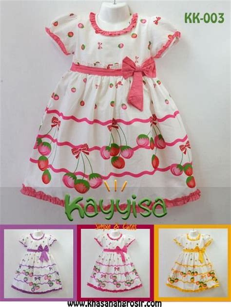 Skh A Baju Anak Perempuan Pakaian Anak Cewek Baju Anak Murah jual baju dress pakaian anak cewek cantik dan lucu