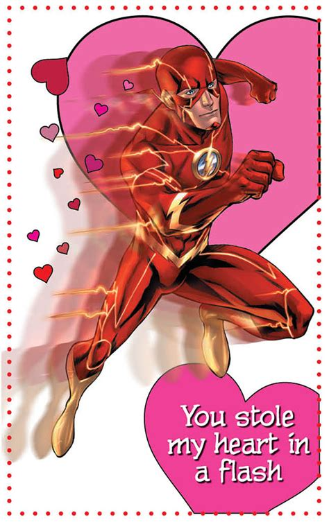 valentines day flash valentines from dc comics fizmarble