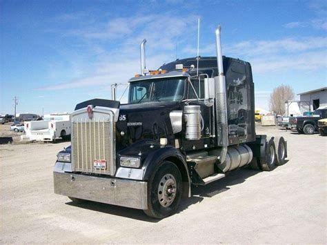 kenworth w900b 2005 kenworth w900b sleeper semi truck for sale 240 217