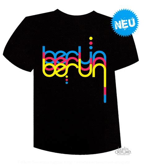 T Shirt Berlin t shirt quot welle quot berlin neon shirts im deluxe shop