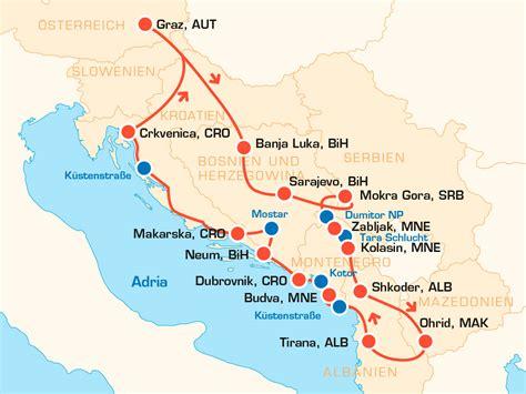 Motorradreisen Balkan by Balkan Motorrad Tour Im Xxl Format Mit Dem Motorrad Durch