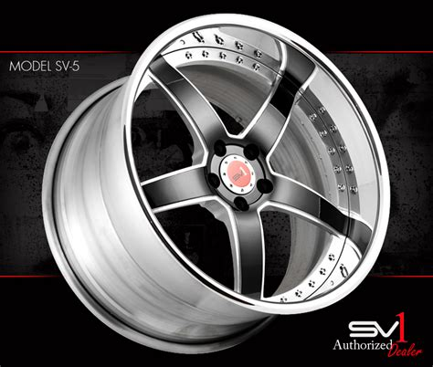 Ac 2442 Silver sv1 forged wheels available at auto haus performance