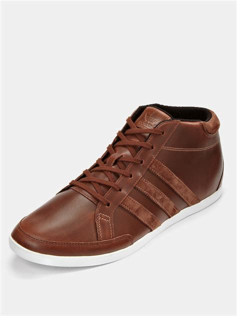 brown adidas sneakers adidas adidas originals mens up 58 sports boots in brown